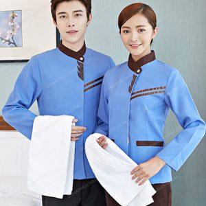 Điều mà rất nhiều người nhân viên phục vụ quan tâm không phải là chiếc áo đồng phục nhân viên tạp vụ đẹp tới đâu mà là việc sử dụng nó có thoải mái hay không?