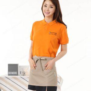 Đồng phục nhân viên áo phông - tạp dề 15