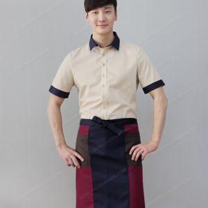 Đồng phục nhân viên áo phông - tạp dề 16