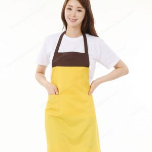 Đồng phục nhân viên áo phông - tạp dề 01