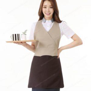 Đồng phục nhân viên áo phông - tạp dề 02