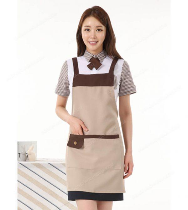 Đồng phục nhân viên áo phông - tạp dề 03