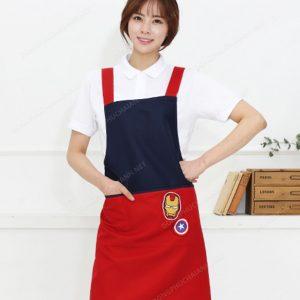 Đồng phục nhân viên áo phông - tạp dề 04