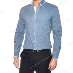 Với phong cách đơn giản, có nét cổ điển thì không khó để sử dụng chiếc áo sơ mi nam công sở này trong nhiều hoàn cảnh khác nhau.