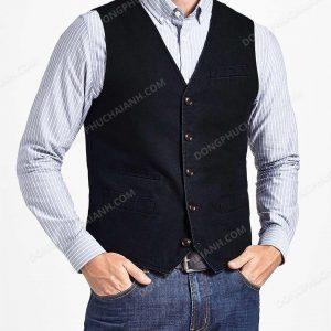 Một mẫu áo gile nam công sở cực đẹp được thiết kế và sản xuất bởi Hải Anh.