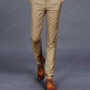 Mẫu quần âu nam công sở với sự tinh tế trong thiết kế đường nét.