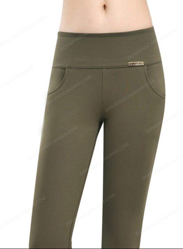 Mẫu đồng phục quần tây nữ công sở cho người béo