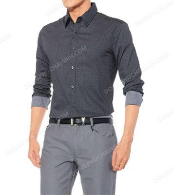 Đồng phục áo sơ mi nam công sở 2018