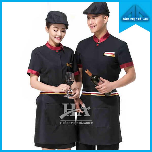 Mẫu đồng phục nhà hàng ăn uống đẹp, giá rẻ
