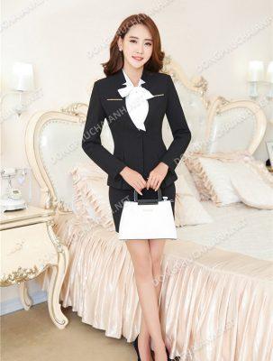 Mẫu áo vest công sở nữ đẹp