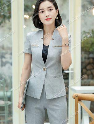 Mẫu áo vest công sở nữ uy tín, chất lượng